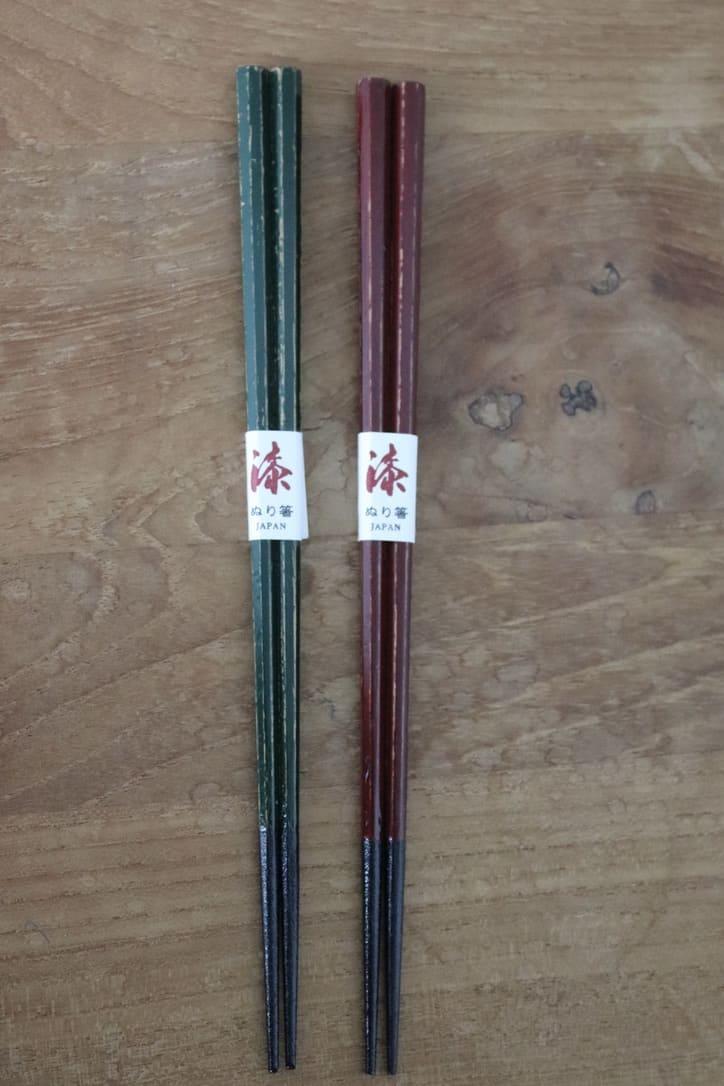 "Octagonal paired chopstick set ""Togidashi"""