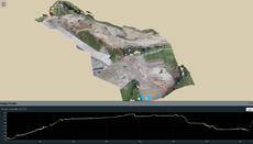 ICT活用工事,土量管理,UAV,空中写真測量,無人航空機,ドローン,測量,三次元,点群,ビューワ,potree