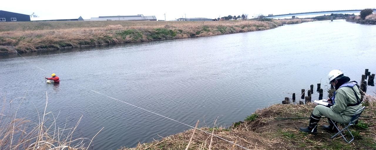 一級河川における流量観測