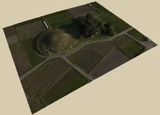 鹿児島,文化財,横瀬古墳,ドローン,UAV,空中写真測量