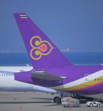 Thaiairways - Flug nach Bangkok, Thailand