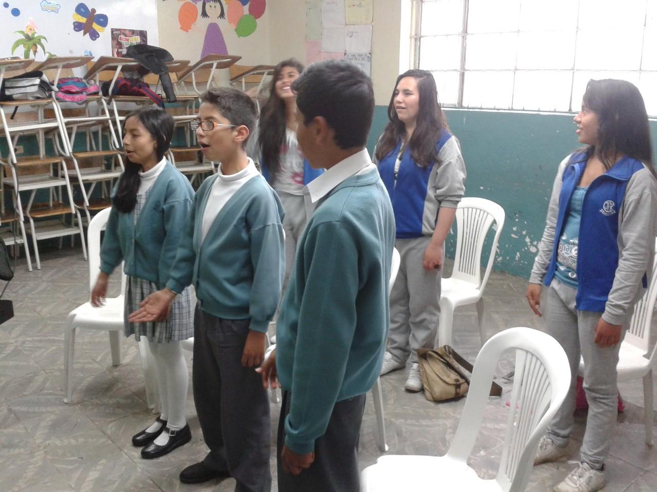"""Ensayo 6 de Noviembre de 2013 I.E.D. J.F.R. Sede """"D"""" Carlos Alban Olguín"""