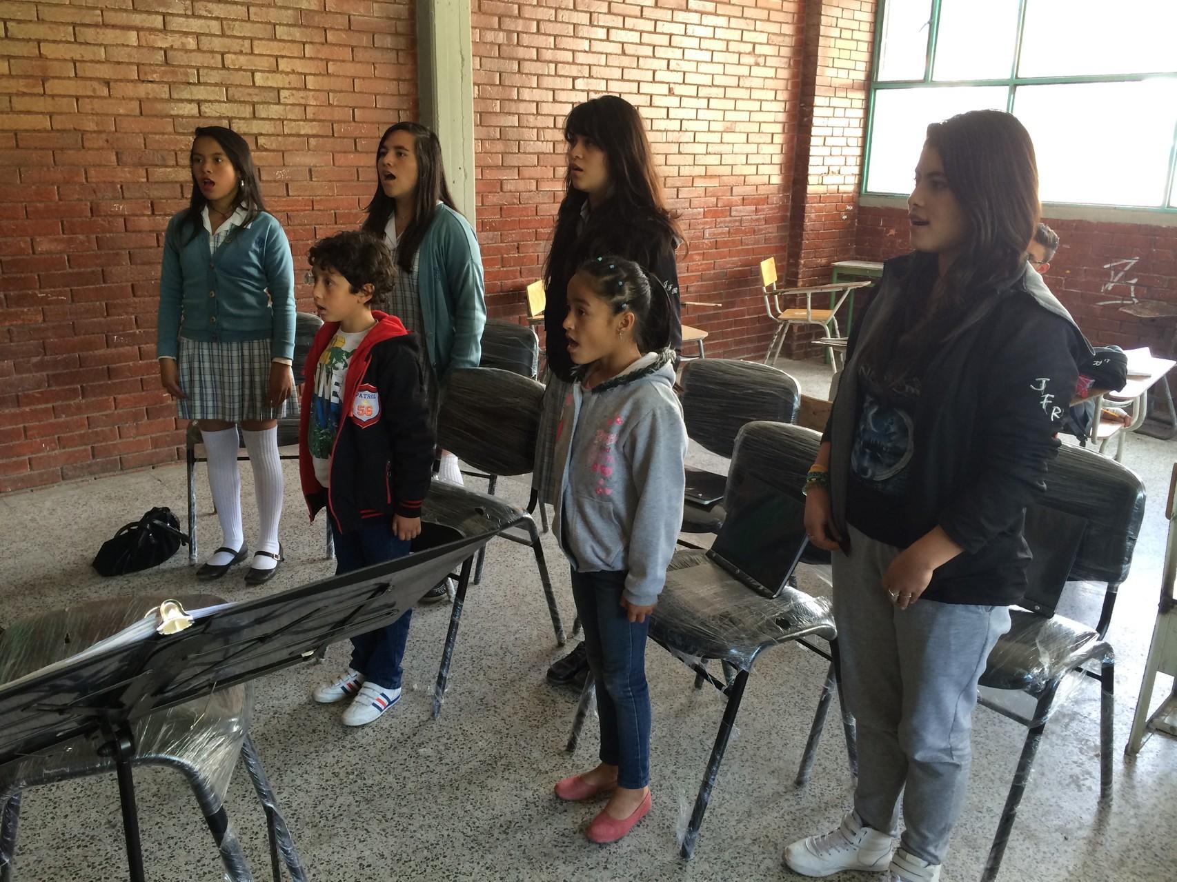Ensayo 25 de Julio de 2014 sede A Colegio José Félix Restrepo