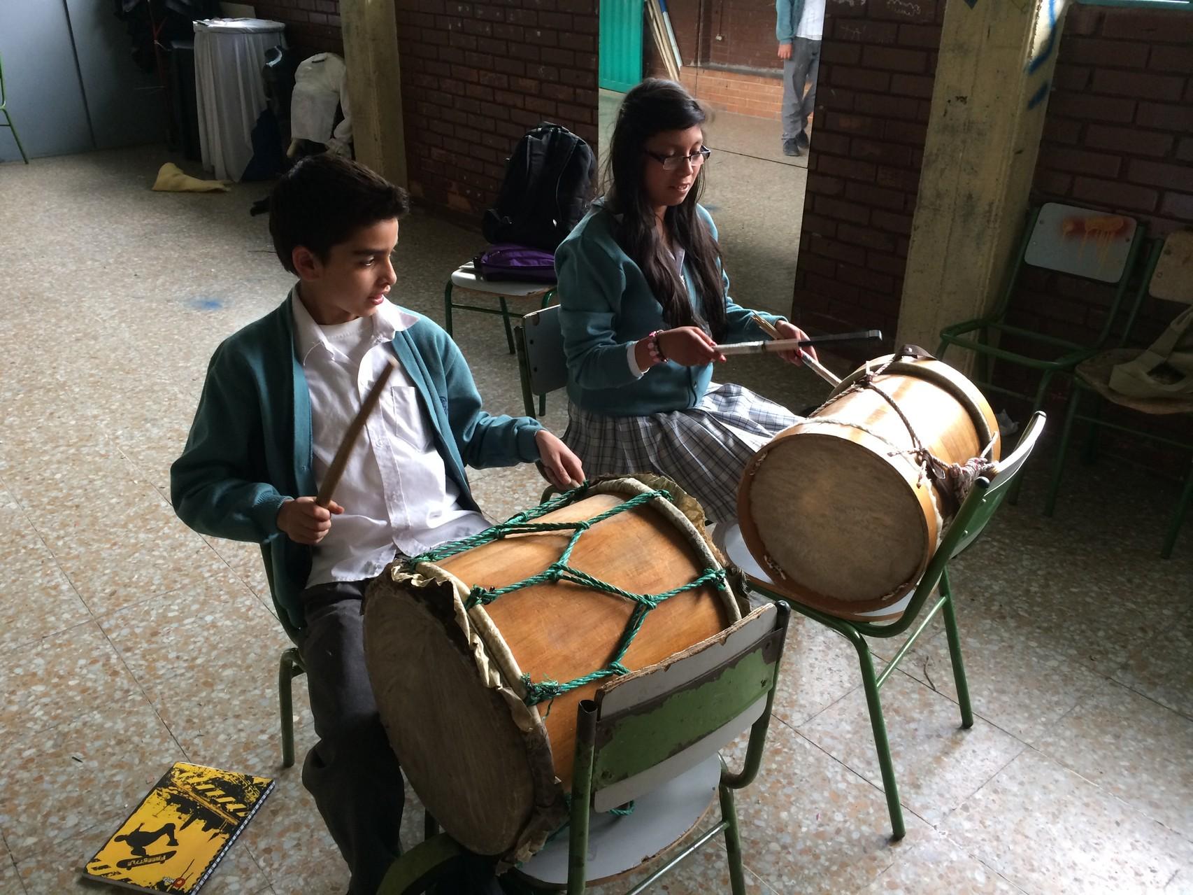 Práctica instrumental (Percusión) Febrero 2014