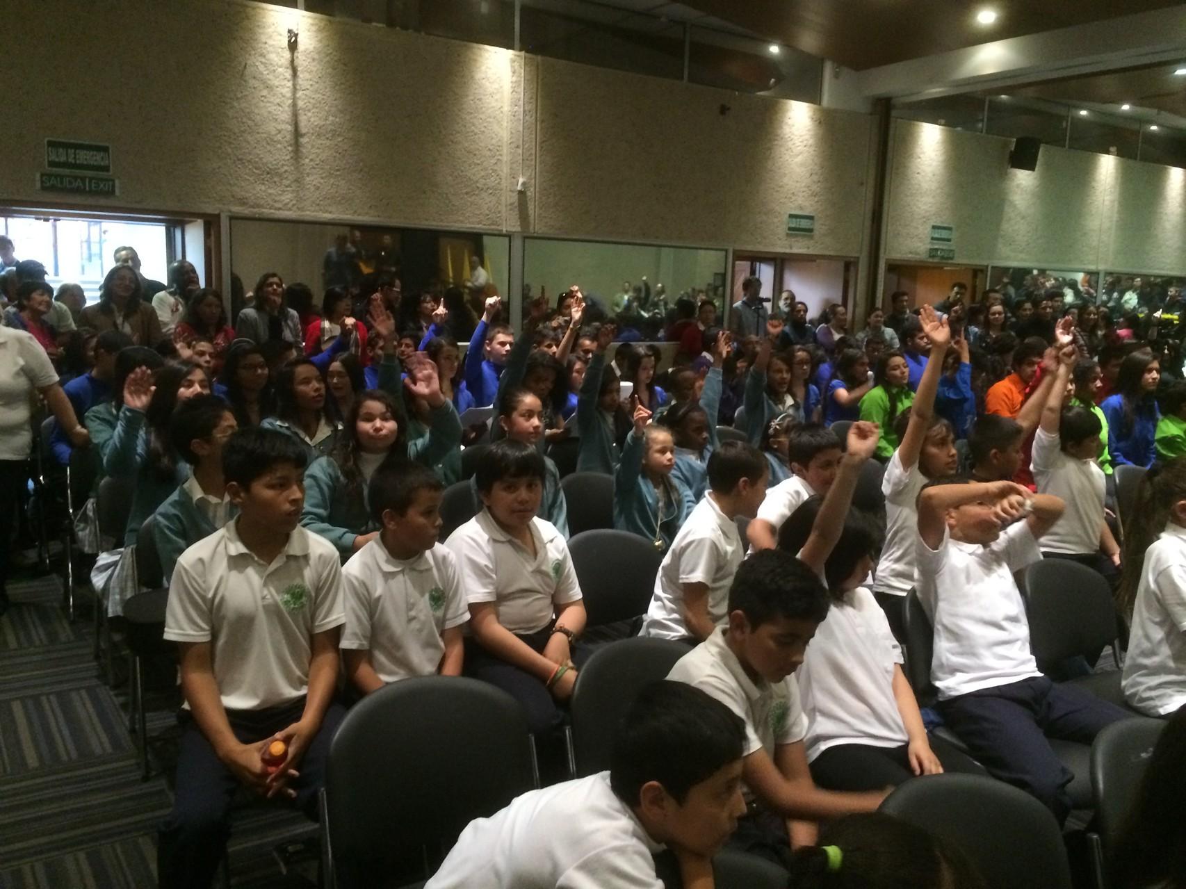 Presentación Encuentro de Coros de la Especialización en Dirección de Coros Infantiles y Juveniles de la Pontificia Universidad Javeriana 10 de Mayo de 2014