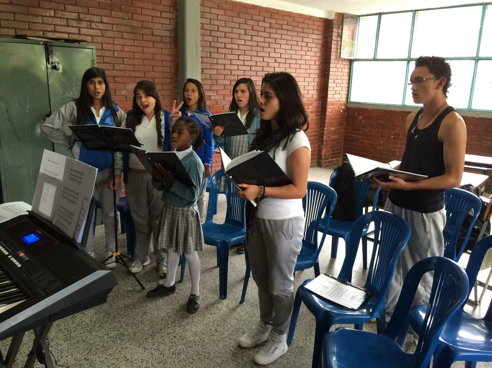 Ensayo 30 de Mayo de 2014 sede A Colegio José Félix Restrepo