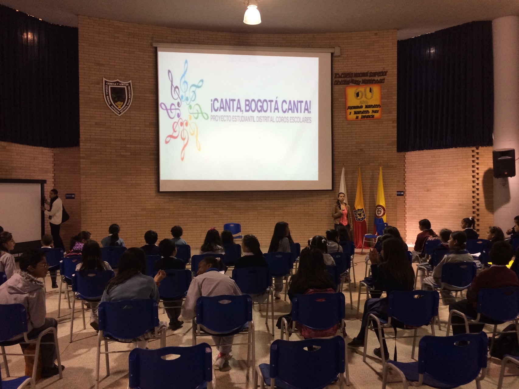 Ensayo ¡Canta Bogotá Canta! Junio 03 de 2014 Escuela Normal Superior Distrital Maria Montessori Sede A
