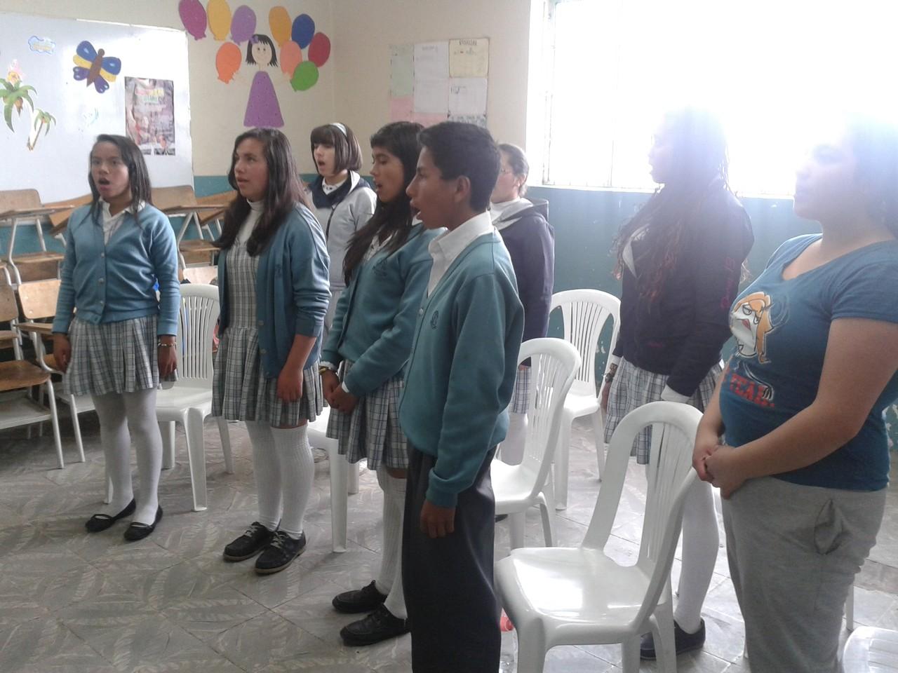 """Ensayo 1 de Noviembre de 2013 I.E.D. J.F.R. Sede """"D"""" Carlos Alban Olguín"""