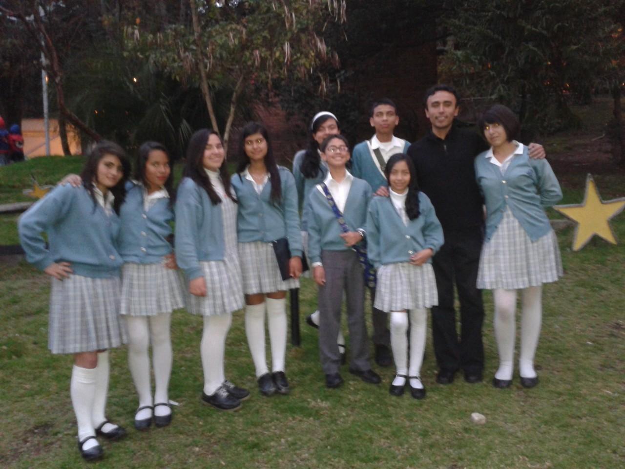 Presentación Encuentro de Coros de la Especialización en Dirección de Coros Infantiles y Juveniles de la Pontificia Universidad Javeriana Noviembre 23 de 2013