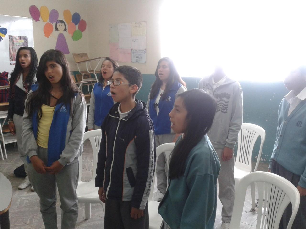 """Ensayo 15 de Noviembre de 2013 I.E.D. J.F.R. Sede """"D"""" Carlos Alban Olguín"""