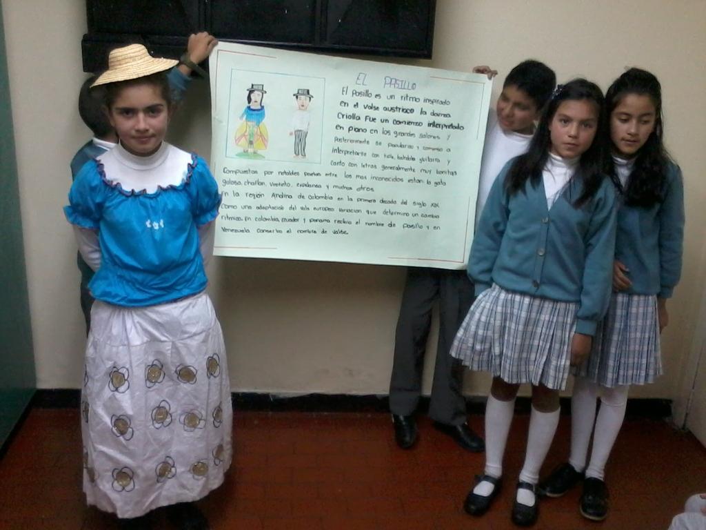 Exposiciones del grado Sexto, apreciación musical en Colombia (2012)