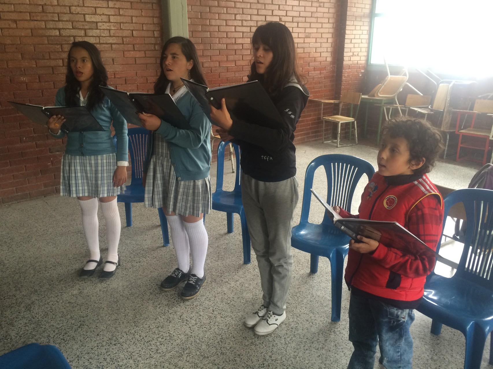 Ensayo17 de Julio de 2014 sede A Colegio José Félix Restrepo
