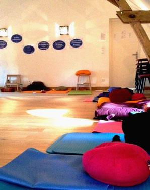 coussins de méditation pleine conscience programme MBCT