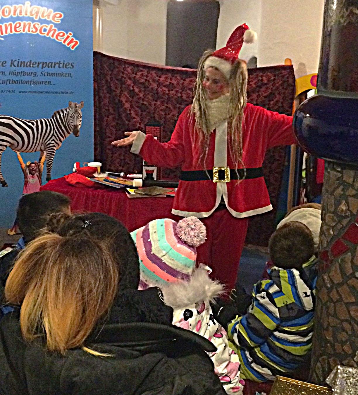 Kurz vor der verzauberten Märchenstunde, aber wo ist der Nikolaus? ...