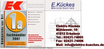 Elektro Kückes, Erkelenz