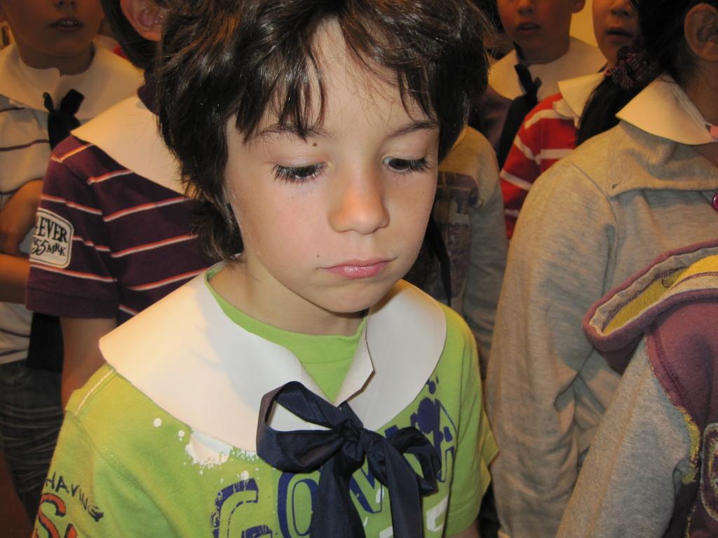 Martino, sguardo immerso nei suoi pensieri...in attesa