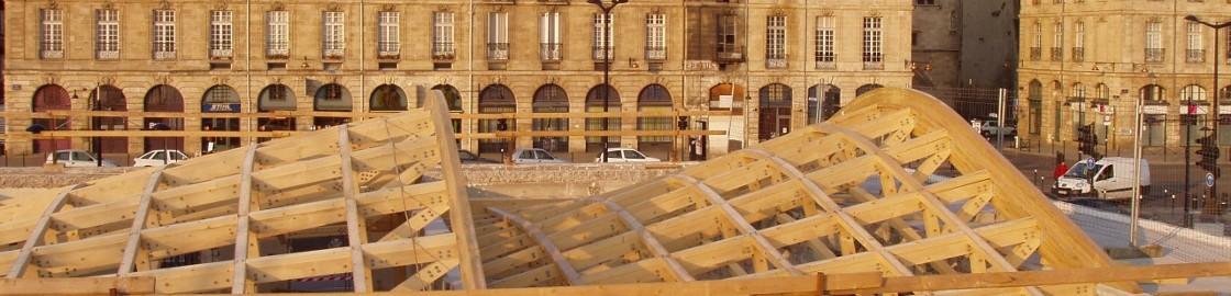 MARCHÉS PUBLICS DE GRANDE AMPLEUR. Maison éco-citoyenne de Bordeaux. Architecte Olivier LEHMANS