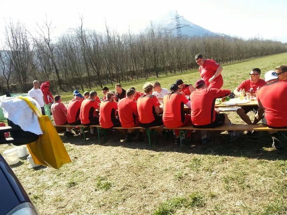 Trainingslager Contone 2014