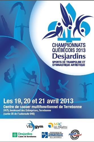 Championnats Québécois 2013