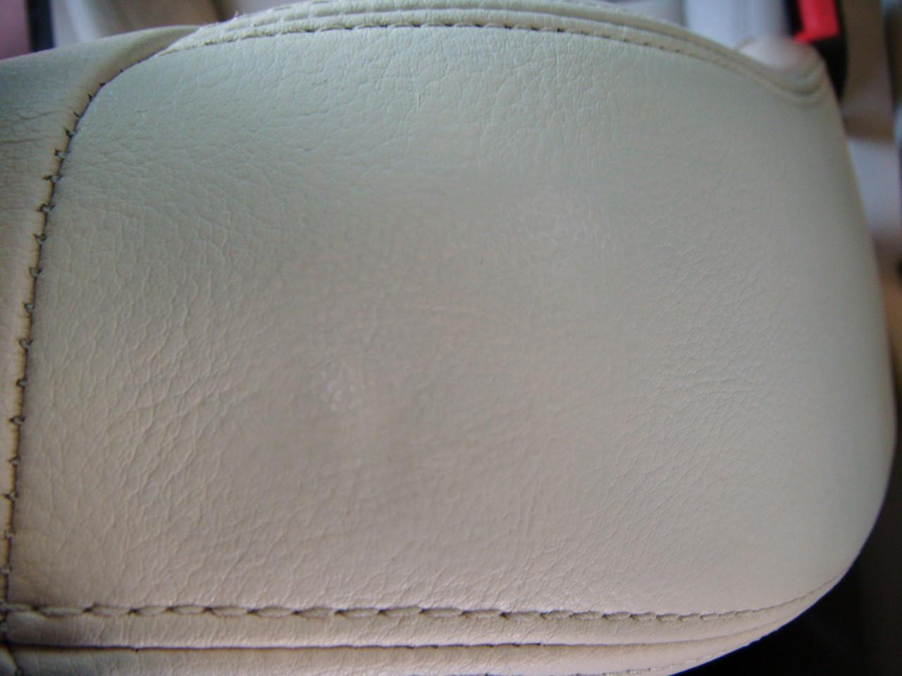 Lederloch Reparatur (Nachher)