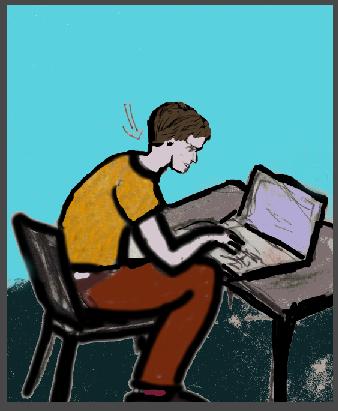 Ergonomie am Schreibtisch