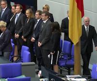 Eröffnung 240. Plenarsitzung Deutscher Bundestag