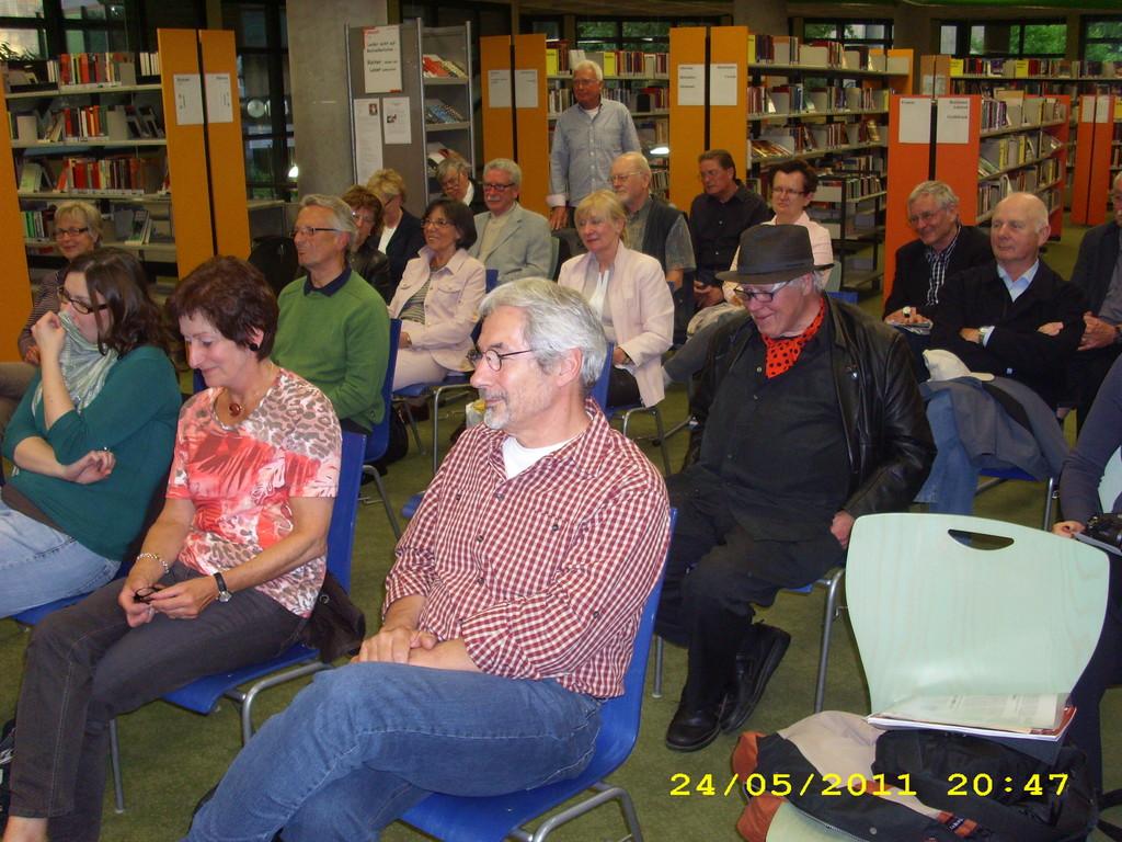 Gäste - Lesung in der Zentralbücherei Bochums