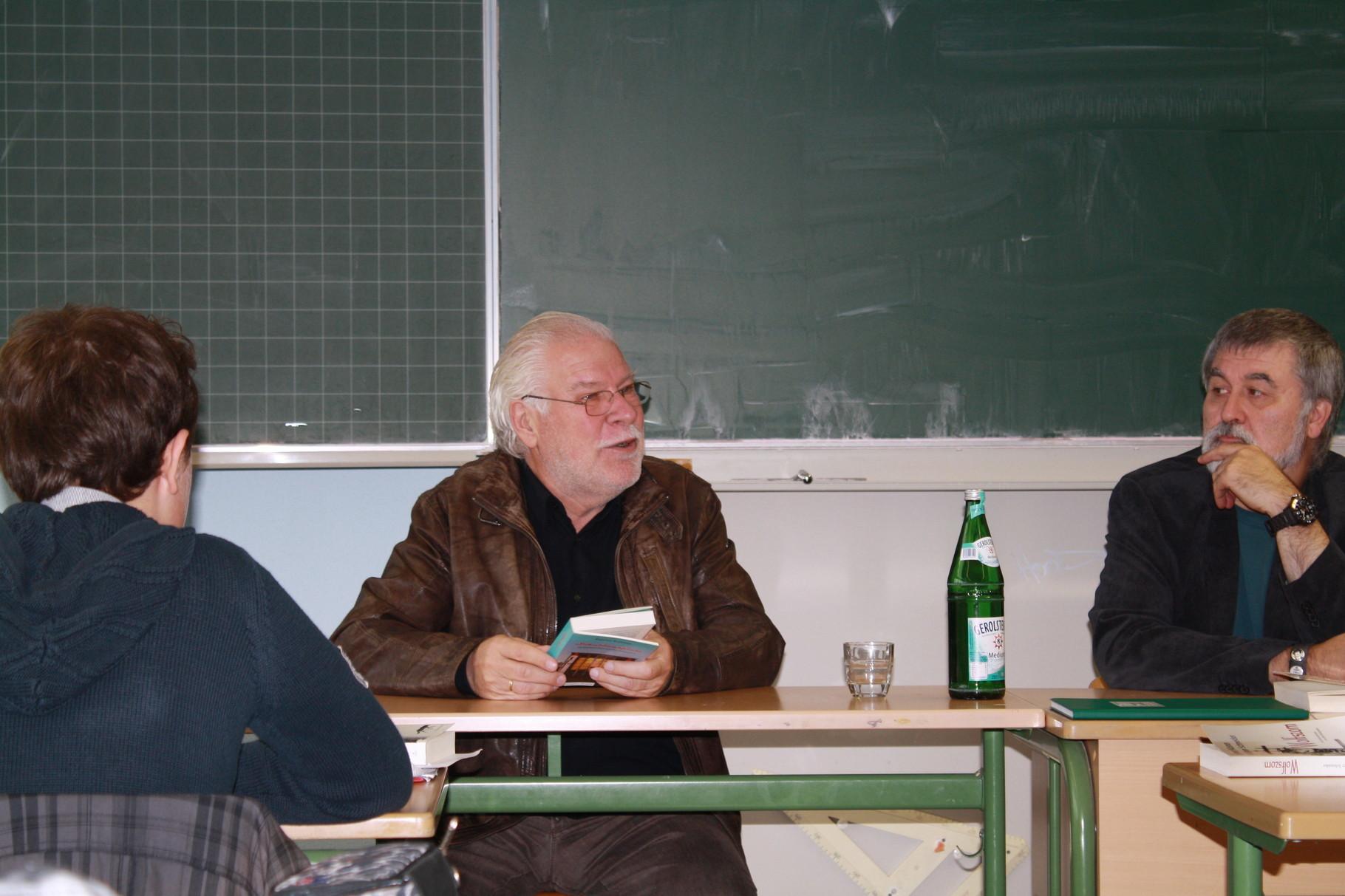Besuch bei der 9a in der Heinrich-von-Kleist-Schule
