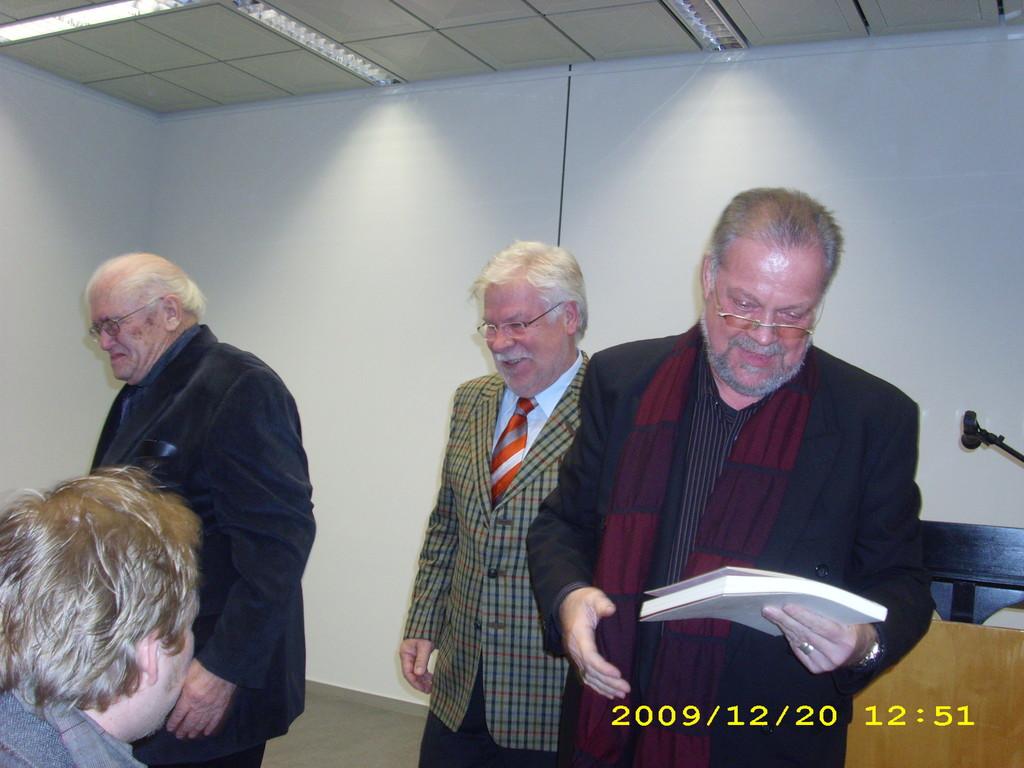 mit Hugo-Ernst Käufer und Michael Starcke