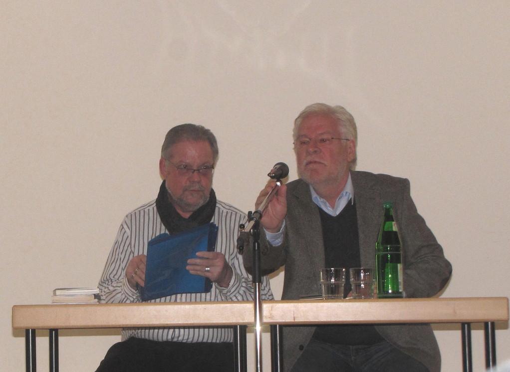 Lesung in der Synagoge Gelsenkirchen mit Michael Starcke