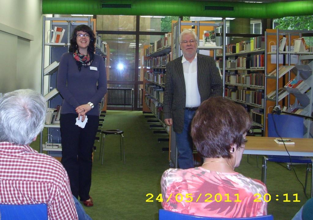 Zentralbücherei Bochum 2011 - Vorstellung des Autors