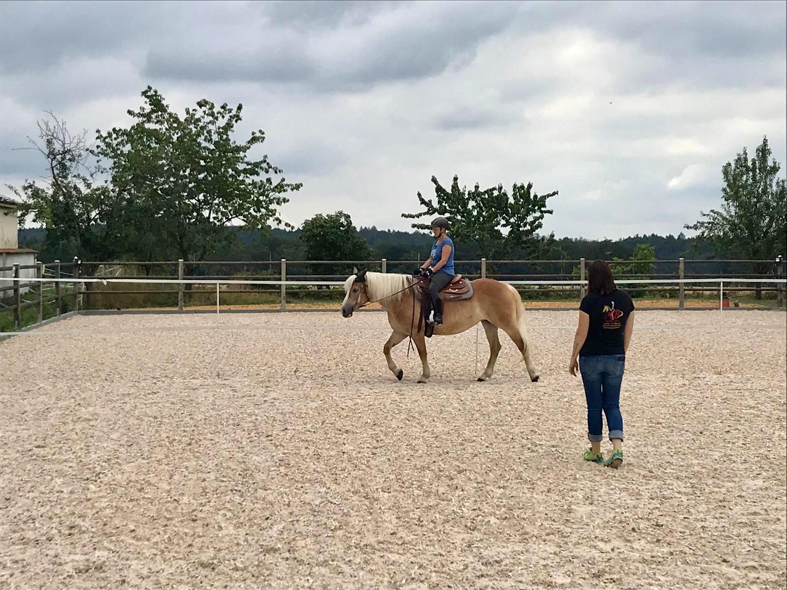 Training mit Marion