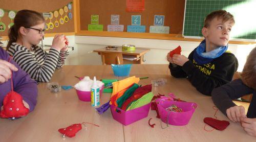 Adventsbasteln Grundschule Gartenstadts Webseite