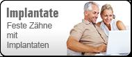 Zahnimplantate: Mehr Lebensqualität mit festen Zähnen! (© Yuri Arcurs - Fotolia.com)