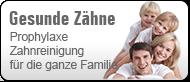 Prophylaxe und Professionelle Zahnreinigung beim Zahnarzt Bamberg (© Dekofenak - Fotolia.com)