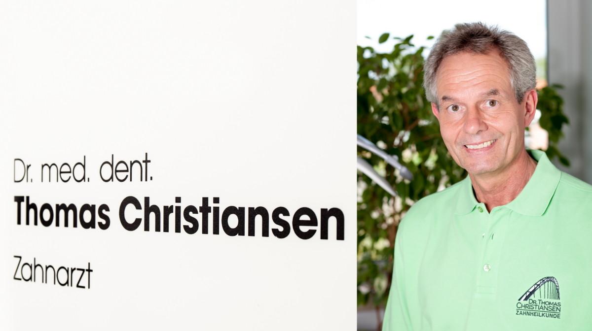 Es begrüßt Sie Dr. Thomas Christiansen