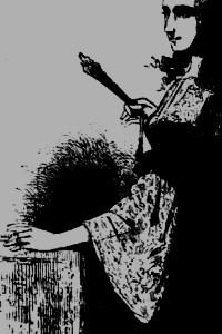 Détail d'après Diane de Maufrigneuse, par Ch. Ch.