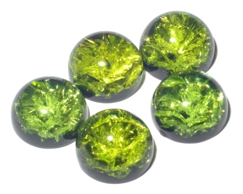 Зеленый янтарь