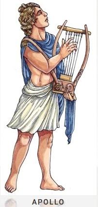 APOLLO ist der Gott der Weissagung, der Poesie, Musik und der Sonne