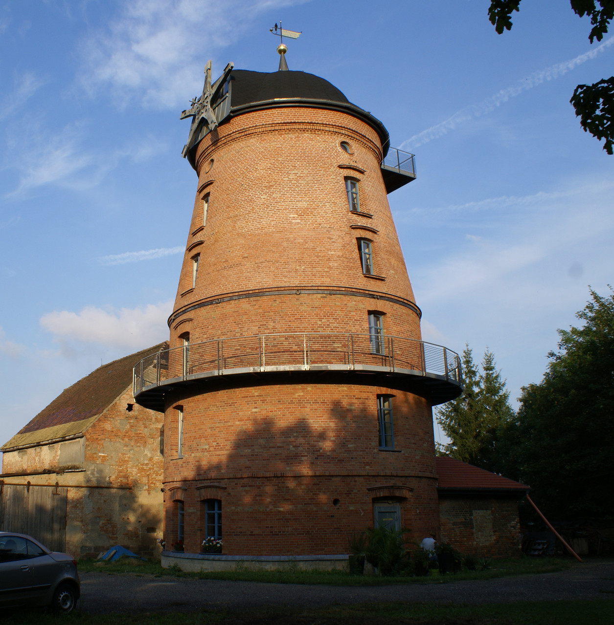 Holländer Mühle in Naumburg