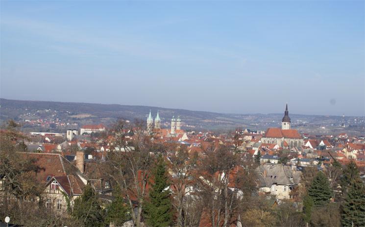 Blick auf Naumburg