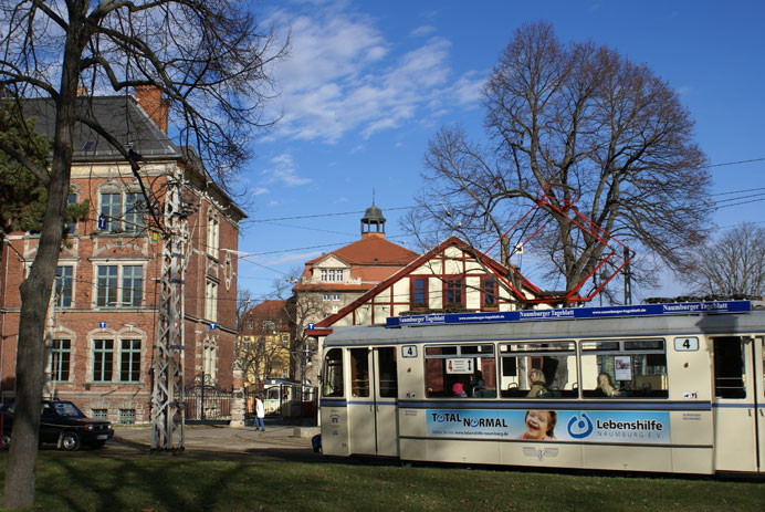 Straßenbahn von Naumburg