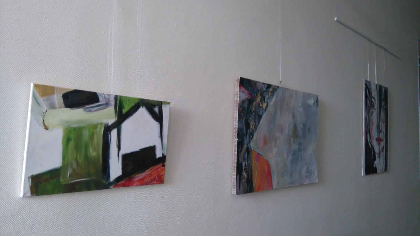 Einzelausstellung Rathaus Lohne Sommer 2016