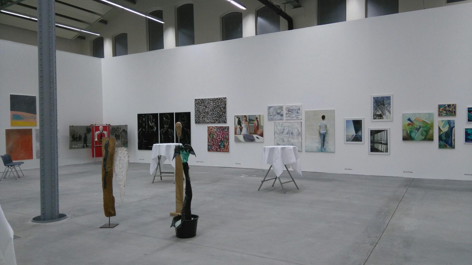 Mitgliederausstellung 2016 - Kunsthalle Lingen