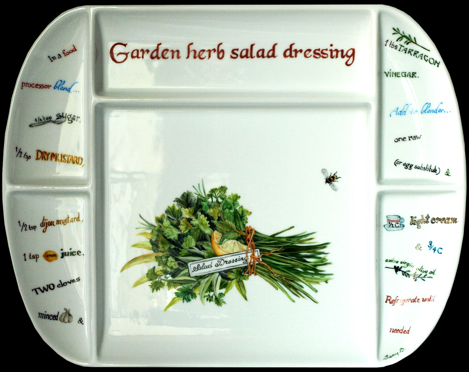 garden herb salad dressing