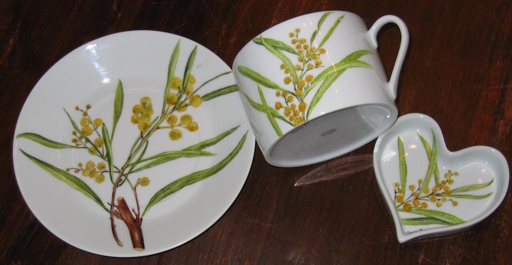 """service pour petit-déjeuner """"mimosas"""""""