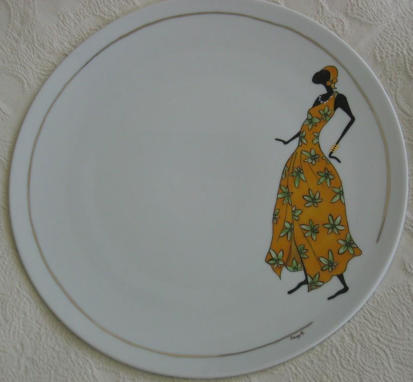élégante africaine