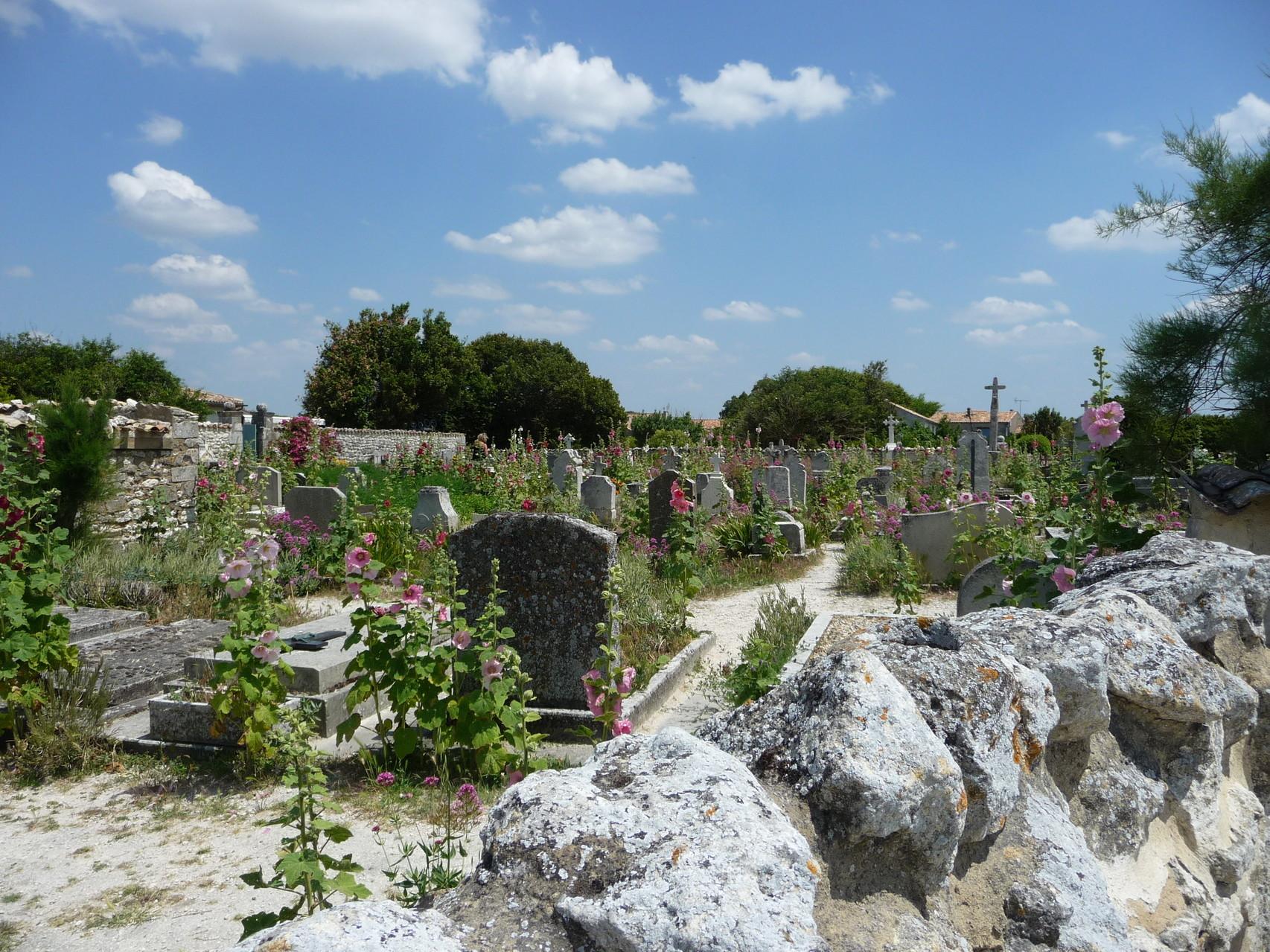 cimetière de Talmont !