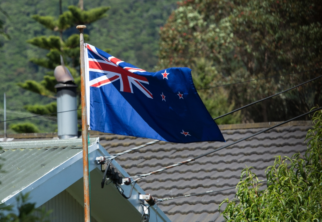 ... stolz wehenden Nationalflaggen ( hier darf das wohl noch sein ) ...