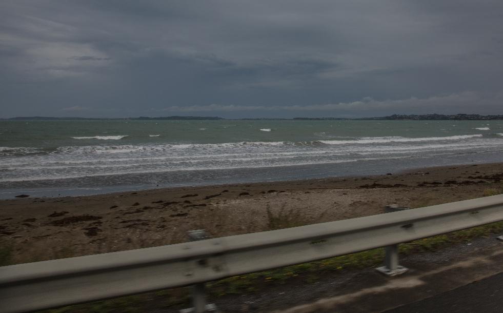 Fuhren über den Pacific-Coast Highway. Mega geil!! Kilometerweit dem Meer entlang!
